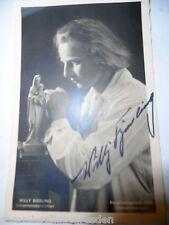 19788-1 Oberammergau  Ansichtskarte Autogramm Willy Bierling Passionsspiele 1934