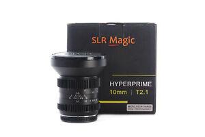 SLR Magic HyperPrime CINE 10mm T2.1 lens MFT Mount