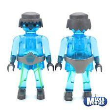 playmobil® Figur Auserirdischer | Alien | Geist | blau transparent Kristall RAR
