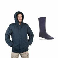 *BUNDLE* Doobon/Dubon Cold Weather Hooded Coat Parka + Commando Socks