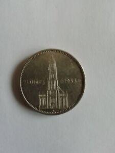 5 Reichsmark, Garnisonkirche -mit Datum, Silber, 1934 A