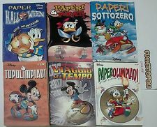 Fumetti DISNEY lotto 3 Walt Disney Company 6 voll. (v.foto) Usati OTTIMI