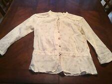 Womens Ben Sherman Button Down Blouse Size XS All Cotton