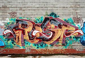 A0 SIZE CANVAS PRINT URBAN wall decor spray GRAFFITI STREET  ART licensed image