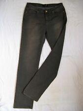 SEVEN 7 Damen Jeans Stretch Brown Denim W31/L34 low waist slim fit straight leg