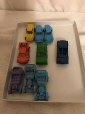 Lot of 9 Vintage Tootsie Die-cast Cars In great Condition