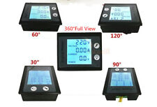4in1 AC 10A Digital Monitor Voltage Current kWh Energy Power Meter 110V 220V