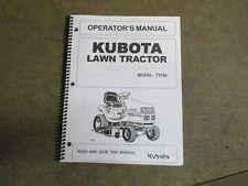 heavy equipment manuals books for kubota tractor ebay rh ebay com Kubota T1760 Parts Diagram Kubota T1760 Parts Diagram