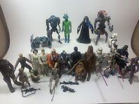 Lot Of 22 Star Wars Figures (1977 - 2000's) - GMFG, Hong Kong