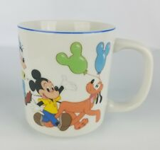 Disneyland Walt Disney World Coffee Mug Pluto Mickey Goofy Minnie Donald Duck