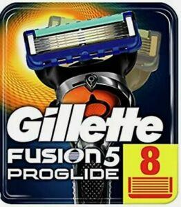 Gillette Fusion Proglide, 8 Lamette. Prodotto Nuovo, Sigillato Originale rasoio