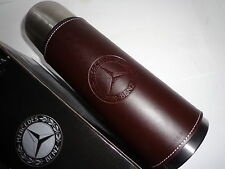 Mercedes-Benz- Thermos/Tumbler/Cup/Mug/Coffee/Leather