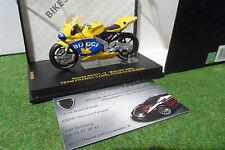 MOTO HONDA RC211-V MotoGP 2004 #3 BIAGGI au 1/24 IXO RAB086 miniature