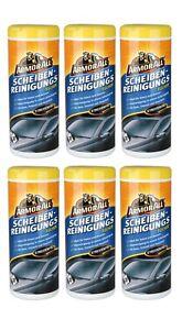 Armor All® 0,16€/Einheit Scheiben-Reinigungstücher 6x30 Tücher 37025L Auto Glas