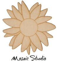 Blooming Daisy - Wooden Cut-out - 350x350x6mm