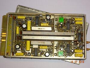 Kassette mit Einseitenbandfilter 200-E-275kHz, 200+E-0275kHz, Mischer, RFT/ FWB