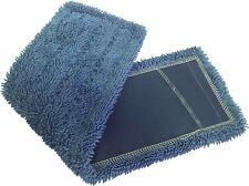"Dust Mops | 72"" Blue-Microfiber Industrial Style - 6 Pack"