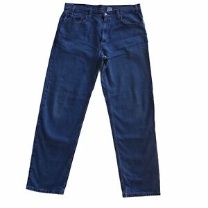 Levi's 550 Men's Relaxed Fit Jeans 36x32 Blue Med Wash Denim 100% Cotton Zip Fly