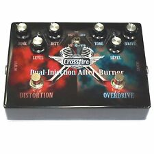 NEW Crossfire Distortion & Overdrive Dual Electric Guitar Effects Pedal
