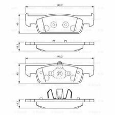 Bosch Brake Pad Set, disc brake 0 986 494 661