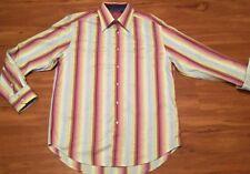 ROBERT GRAHAM Men's Multi Color Button Down Stitched Shirt Size XL