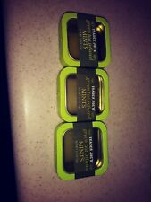 New listing Lot of 3 Empty Trader Joe's Green Tea Mint Tins Arts Crafts Boxes
