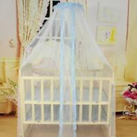 Baby Bed Mosquito Mesh Dome Curtain Net for Toddler Crib Beding Cot Canopy Cover