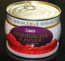 500g CAVIAR IKRA IKURA GORBUSHA SALMON ИКРА ЛОСОСЕВАЯ KOSHER - TOP PRODUCT!