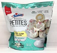 Hostess Bakery Petites White Fudge Vanilla Cake Delights 7.9 oz
