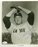Allie Reynolds Yankees Jsa Authenticated Signed 8x10 Photo Autograph