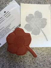 """BOUTIQUE BLOSSOM "" Stampin'UP! NEW~Single Stamp~unmounted~FLOWER~3 3/4 x 3"" NLA"