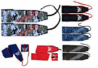 """AQF Wrist Wraps Weight Lifting Straps Gym Training Support 35"""" Cotton Mulitcolor"""