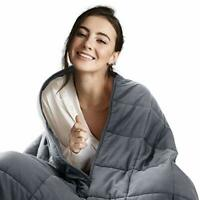 Bedsure Weighted Blanket for Adults - 6.8 KG Double Heavy Blanket for Autism