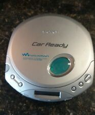 Vintage Sony D-E356Ck Walkman Cd-R/Rw Portable Car Ready Cd Player in Silver