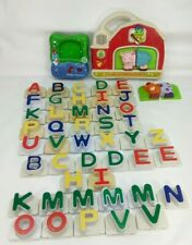 Leap Frog Fridge Phonics educational phonics learning 45 magnetic letters + farm
