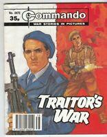 COMMANDO COMIC - No 2472   TRAITORS WAR