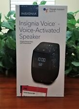 Insignia Voice Activated Speaker with Google Home Assistant From Best Buy