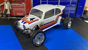 Rc 1/10 2WD Racing Buggy Beetle 2014 Kit 30614 Rare HTF Upgraded Wheels New Mint