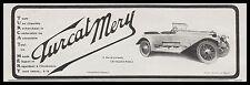 PUBLICITE  TURCAT MERY AUTOMOBILE CAR   AD  1913 - 1H