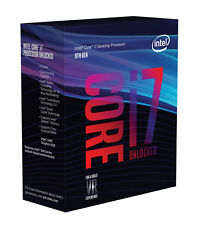 INTEL Core™ i7-8700K Unlocked Processor -IN ORIGINAL SEALED BOX FAN NOT INCLUDED