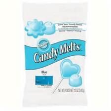 Blue Wilton Candy Melts 12 oz Molds Vanilla Flavor