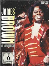 James Brown - An American Icon  2cd + dvd in seal  Region free