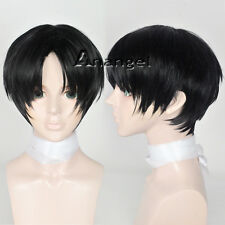 Killing Stalking Manga YinFan Yoonbum Cosplay Wig Halloween Black Short Wigs