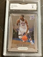 2012-13 Panini Prizm Base #35 Kevin Durant First Year Prizm GMA 9 MINT!!!🔥🔥