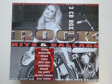 VARIOUS # Rock Hits & ballads # NM (3CD)