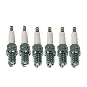 Set Of 6 NGK 7090/BKR5EGP G-Power Premium Platinum Spark Plugs Made In Japan
