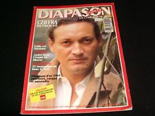 DIAPASON FRENCH MAGAZINE<> NOVEMBER 1991  #376 <> GYORGY CZIFFRA