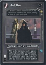 Darth Sidious (AI) - Star Wars CCG - Theed Palace (THP)