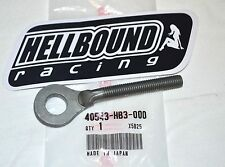NEW OEM HONDA rear chain axle adjuster 1986-1988 Honda TRX200SX TRX 200SX atv