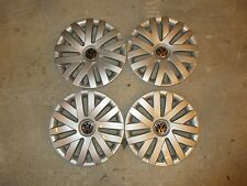 "Set Of 4 New 2010 2011 2012 Jetta 16"" Hubcaps Wheel Covers 61559"